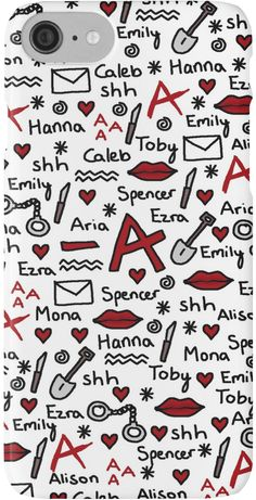 "A phone case to show off your PLL Army allegiance. 17 Gifts Only True ""Pretty Little Liars"" Fans Will Want Caleb Pretty Little Liars, Prety Little Liars, Pretty Little Liars Quotes, Wallpapers Tumblr, Cute Wallpapers, Caleb And Hanna, Films Netflix, I'm Still Here, Favorite Tv Shows"