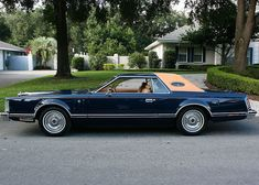 1977 Lincoln Mark V Blass  I'd buy it if it were just a wee bit bigger.