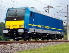 Bombardier TRAXX Electric Locomotive in Hungary
