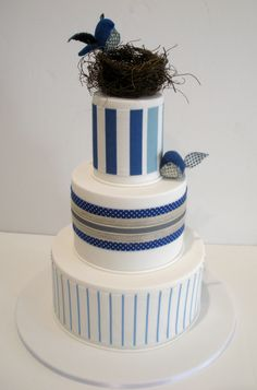 """Faye Cahill Cake Design """"collected pieces"""" ( might skip the nest though)"""