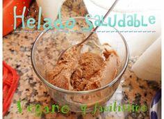 Helado sano y facil en menos de 5 min, vegano, rico y sin heladera