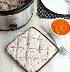 Crockpot Creamy Savory Coconut Rice