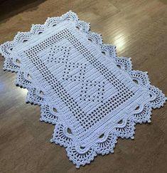 Baby Pink and White Crochet Blanket /Open Weave Lace / Shower Gift / Girl Blanket / Cotton Yarn / Baby Blanket Doily Rug, Lace Doilies, Crochet Doilies, Filet Crochet, Hand Crochet, Crochet Stitches, Crochet Designs, Crochet Patterns, Crochet Carpet