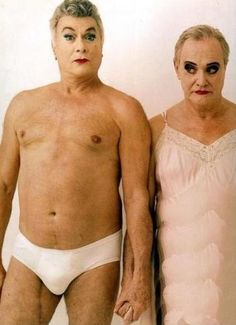 "Tony Curtis and Jack Lemmon... this is hilarious considering its from my fav movie ""Some Like It Hot"""