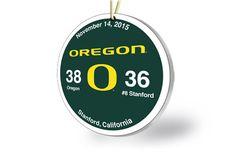 Oregon Victory Ornament