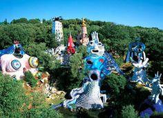 Tarottuin van Niki de Saint Phalle in Toscane | Toscane-Nu.nl