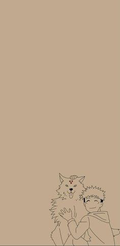 Yuji Itadori Minimalist Wallpaper