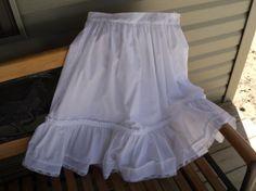 Custom children's girls petticoat Civil War by HeritageDressmakers