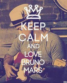 Bruno Mars I LOVE YOU!!!