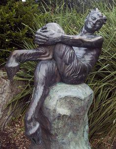 Statue of a Satyr, Royal Botanic Gardens, Sydney