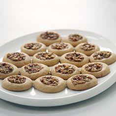Pecan Pie Cookies —pecan pie, the lazy girl's way