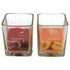 TEMPTATION CANDLE  AVAILABLE IN 2 COLOUR STYLE- 01-2256