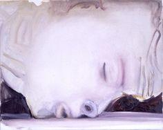 'The Kiss' - 2003 - by Marlene Dumas (South African, b. 1953)