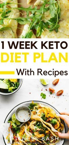 1-week keto meal plan for weight loss. Check the simple 7-day keto diet plan for beginners.