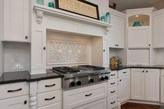 Design under hood!  White Fresh Residence - Traditional - Kitchen - minneapolis - by Kathie Karsnia Interiors