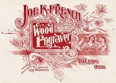 Joe K. French, Wood Engraver