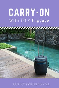 iFLY Luggage carry-on review and how I travel almost exclusively with a carry-on.