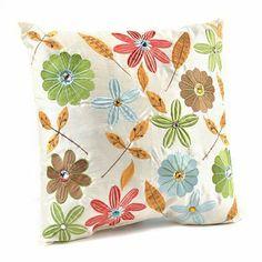 Melina Floral Pillow by Kirkland's $17