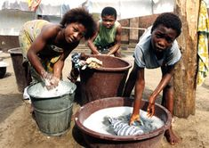 Child domestic workers in Benin. Life for child domestic workers can be very isolating. They live in the families' homes but remain outsiders.
