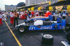 f1 1982 Las Vegas-Jacques Laffite Talbot-Gitanes Ligier JS 19....V12