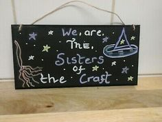 witchcraft  sign plaque  Wiccan Pagan  Magical  | eBay