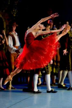 Coming to London in March - check www.balletnews.co.uk for full casting - Natalia Osipova in Don Quixote Photo by Stas Levshin