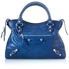 Balenciaga Giant Nickel Town Handbag