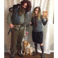 Hagrid & Hermione