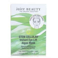 Good news! We now have your favorite STEM CELLULAR™ Instant Eye Lift Algae Mask  in a Single Pack! Shop now ->>