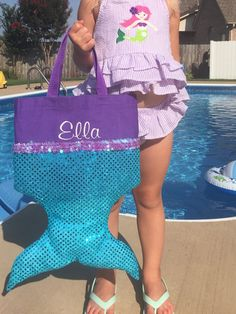 Hey, I found this really awesome Etsy listing at https://www.etsy.com/listing/239797376/little-mermaid-party-favor-tote-ariel