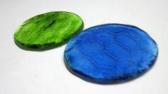 MAXI Pastilhas redondas de vidro