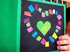 prochaine carte de fêtes des mères: c'est trop joli!! Valentine Heart, Valentine Crafts, Valentines, Valentine Ideas, Art For Kids, Crafts For Kids, Kindergarten Blogs, School Displays, School Art Projects