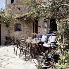 provencal stone house