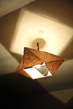 Ceiling lamp by Victor Emil Carp, via Behance
