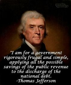 Wish some of our leaders would understand this. Stop giving our tax dollars away because you have the authority.