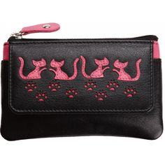 654aa2af32f Mala Leather Poppy Cat Leather Coin Purse £15.00 available from www.kubi.co