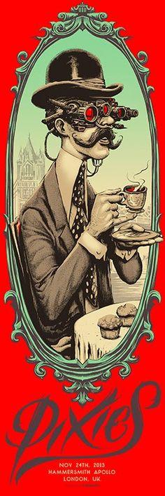 PIXIES-HAMMERSMITH-MUNK-ONE-London-Poster-1