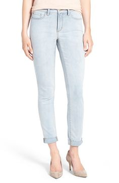 Free shipping and returns on NYDJ 'Anabelle' Skinny Boyfriend Jeans (Nice) at Nordstrom.com. Kick back in comfortable boyfriend jeans cut from soft stretch denim and designed with exclusive lift-tuck technology to help flatten the tummy and lift the rear. Roll the cuffs to further the relaxed look.
