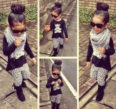 Lol so cute I'm totally going to dress my little sis like this