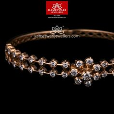 Diamond Earrings Indian, Diamond Bangle, Diamond Jewellery, Diamond Pendant, Gold Bangles Design, Gold Jewellery Design, Gold Jewelry, Ruby Bangles, India Jewelry
