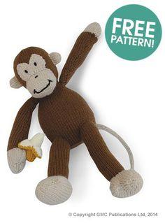 Knit Jungle Animals – Monkeys – 14 free patterns – Grandmother's Pattern Book