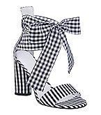 """GUESS """"Allison"""" Ribbon Sandals - $89.00"""