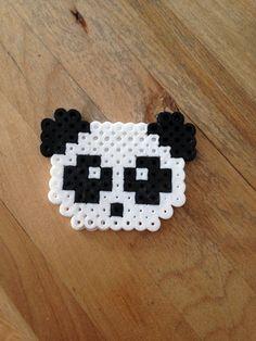 Panda perler beads by MyriamRebel