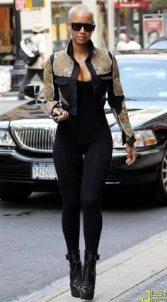 Amber Rose is also one of my fave pyts! She be on point and no one can rock her do but her!