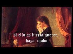 """Yo no Puedo Tenerte ni Dejarte """" Sor Juana Inés de la Cruz."""" - YouTube"""