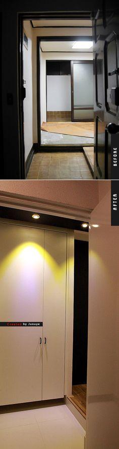 [신혼]신림동 12평 빌라의 변신 - 06(현관,갤러리,식탁 등) : 네이버 블로그
