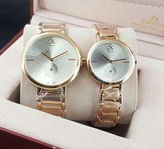 Golden Couple Watch