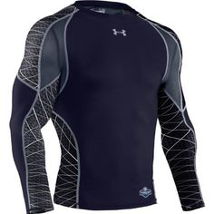 Under Armour NFL Combine Authentic Warp Speed Long Sleeve Top Large by Under Armour. $39.97. The Under Armour® NFL® Combine® Authentic Warp Speed long-sleeve top displays a sublimated WARP print throughout the body that represents the balance of speed, strength, and power! It features metallic HeatGear® fabric for increased compression to promote additional muscle support and a complete HeatGear® mesh back for ventilation. A small heat-sealed NFL® Combine® graphic decorat...