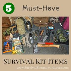 5 Must-Have Survival Kit Items That Won't Require a Mule for Conveyance -- by Steve Foley on June 20, 2014