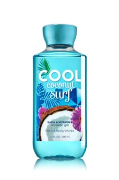 Cool Coconut Surf Shower Gel - A cool summer wave of pineapple, frozen citrus & fresh coconut water